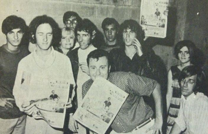 The Doors with DeeJay Jack Alix (Photo source: Clinton Star Ledger)