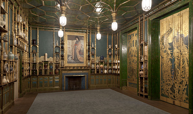 """""""The Peacock Room"""" by Freer Gallery of Art and Arthur M Sackler Gallery. (Photo source: Flickr)"""