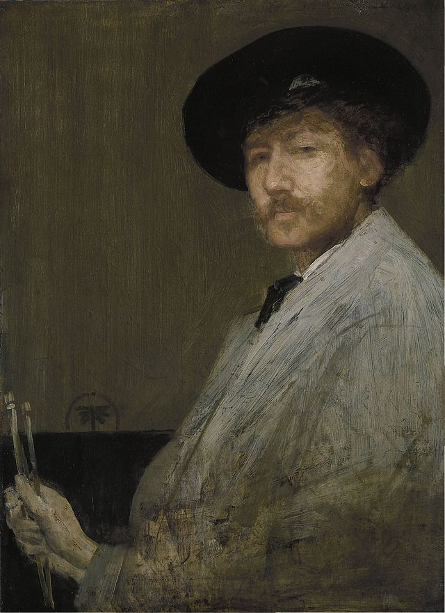 James McNeill Whistler's self portrait. (Photo source: Wikipedia)