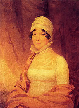 Dolley Madison c. 1817. (Photo source: Wikipedia)