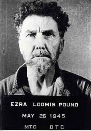 Ezra Pound mugshot