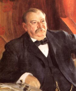 Portrait of Grover Cleveland by Anders Zorn. (Source: Wikipedia)