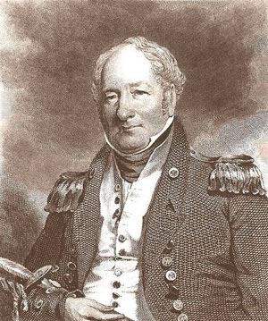 James Barron blamed Decatur for his suspension from the Navy and the animosity between the two men grew for years. (Photo source: Wikipedia)