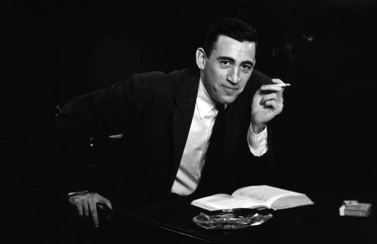 Four years after he published The Catcher in the Rye, J.D. Salinger and his wife, Claire traveled to Washington, D.C. in pursuit of spiritual enlightenment. (Photo courtesy of Antony Di Gesu via PBS Pressroom)