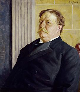 Portrait of William Howard Taft by William Valentine Schevill c. 1910. (Source: National Portrait Gallery)