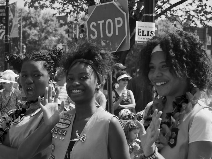 Girl Scouts in DC, 2014