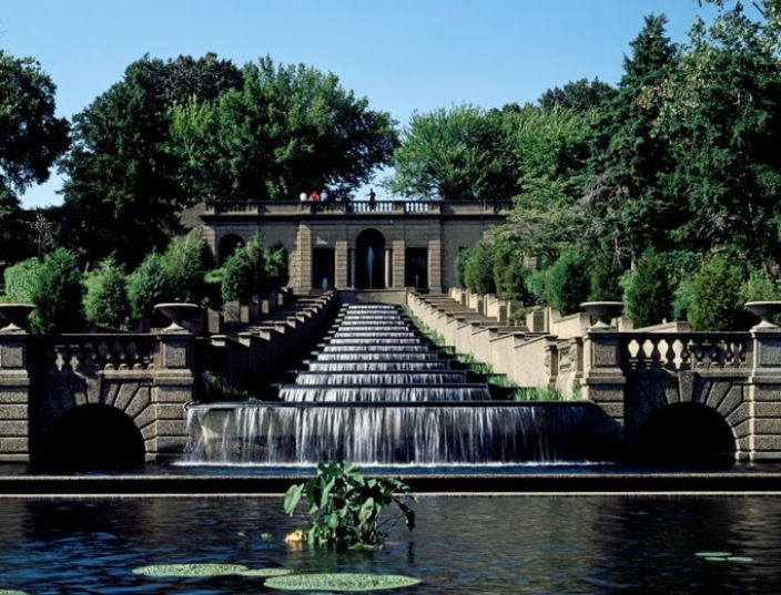 Cascade fountain at Meridian Hill Park