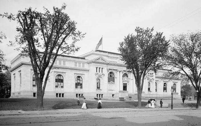 Carnegie Library (Source: Library of Congress)