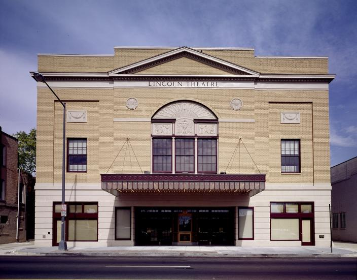 Lincoln Theater. (Source: Library of Congress)