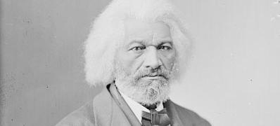 Frederick Douglass spent plenty of time in Washington before the Civil War, but didn't become a permanent resident until 1872. (Photo source: Library of Congress)