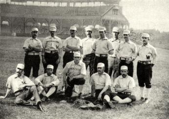 1888 Washington Nationals Baseball Club (Source: Wikipedia)