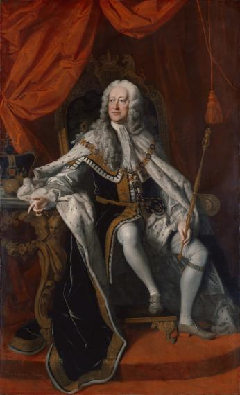 Portrait of King George II of Great Britain