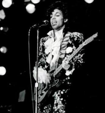 Prince performing at Gallaudet University on November 29, 1984 (Photo: Courtesy of the Gallaudet University Archives)