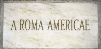 A Roma Americae stone. (Source: National Park Service)