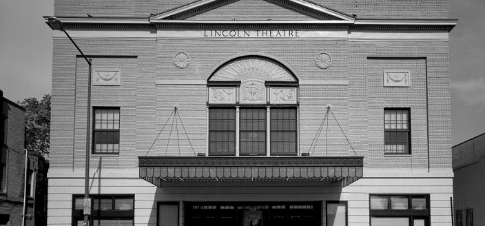 """The restored Lincoln Theatre, once a premier African-American entertainment venue, Washington, D.C."" (Photo Source: The Library of Congress) Highsmith, Carol M, photographer. The restored Lincoln Theatre, once a premier African-American entertainment venue, Washington, D.C. United States Washington D.C, None. [Between 1980 and 2006] Photograph. https://www.loc.gov/item/2011636050/."