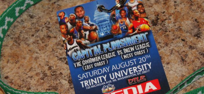 Capital Punishment - Goodman League vs. Drew League (Source: GAMEFACE-PHOTOS on flickr. Used via Creative Commons Attribution-ShareAlike 2.0 Generic License.)
