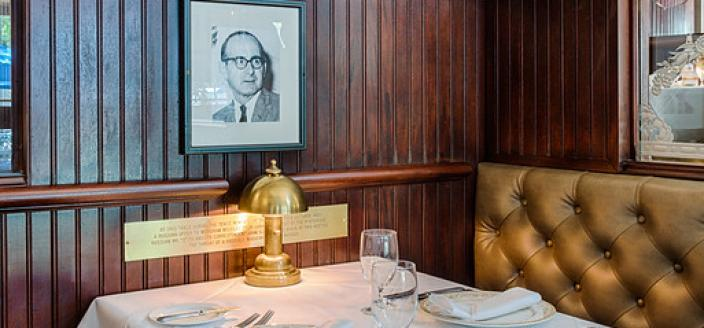 "Scali Table (Photo Source: Occidental Grill & Seafood Website) ""Dining Room - Occidental Grill & Seafood."" n.d. Accessed March 6, 2018. http://www.occidentaldc.com/gallery/dining-room/"