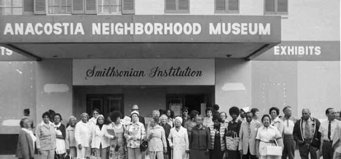Exterior of the Anacostia Neighborhood/Community Museum (Source: Smithsonian Institution)
