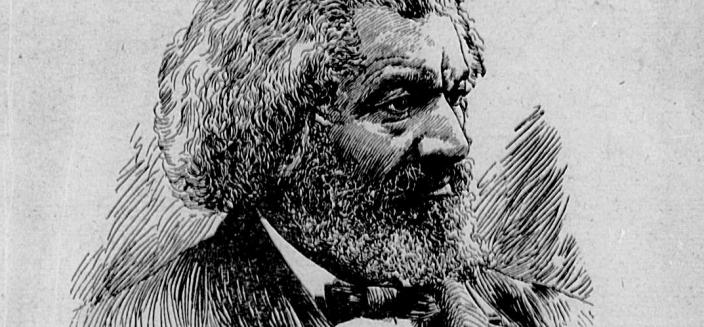 "Cover of Frederick Douglass's 1894 speech, ""Lessons of the Hour,"" a scathing rebuke of lynching delivered at Metropolitan A.M.E. Church in Washington, D.C."