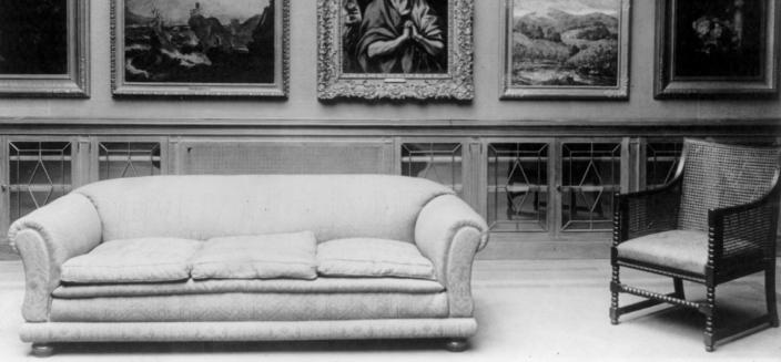 Interior of the Phillips Collection gallery