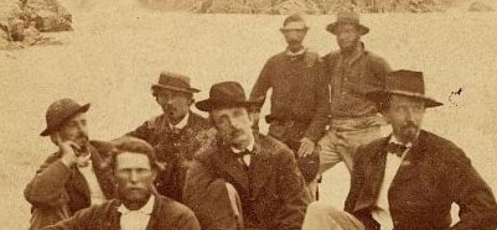 The first Secret Service Agents in 1865 (Source: Reddit r/OldSchoolCool)