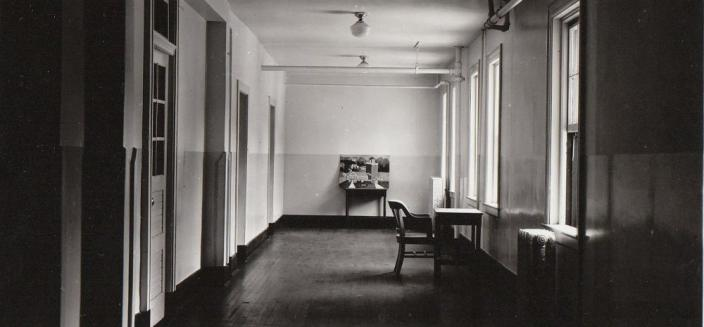 Remodeled interior hall of the National Training School for Girls
