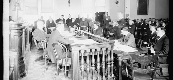 Wan in courtroom