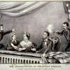 Currier and Ives, The Assassination of Lincoln at Ford's Theater, April 14, 1865. (Photo Source: Library of Congress)
