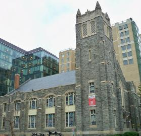 View of Asbury United Methodist Church