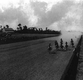 Horse racing was a popular pasttime in Washington during the early 19th century. (Photo source: Library of Congress)