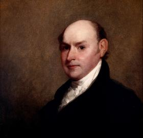 Portrait of John Quincy Adams ca. 1818