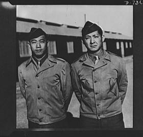 Chinese American soldiers