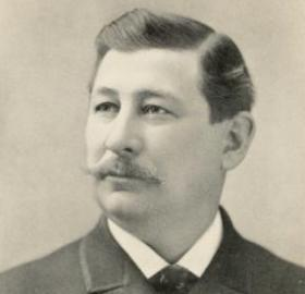 George Alfred Townsend in 1899. (Source: Wikipedia)