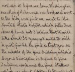 November 30, 1861 entry in Maximilian Hartman's diary