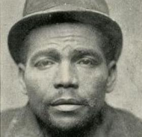 The Slasher in his mug shot. (Photo Source: Historical Society of Washington, D.C.)