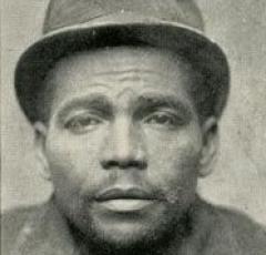 The Slasher in his mug shot. (Photo Source: Historical Society of Washington, D.C.)