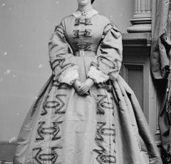 Kate Chase c. 1861 (Photo source: Wikipedia)
