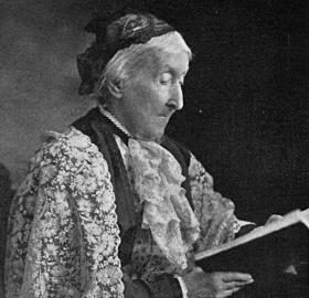 In her later years, socialite Marian Campbell Gouverneur wrote a memoir, which provides an interesting glimpse into early Washington. (Photo source: Project Gutenberg)
