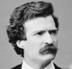 Mark Twain, 1871 portrait by Matthew Brady