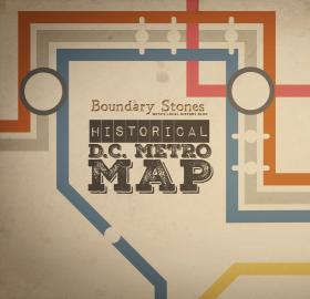 Historical D.C. Metro Map graphic