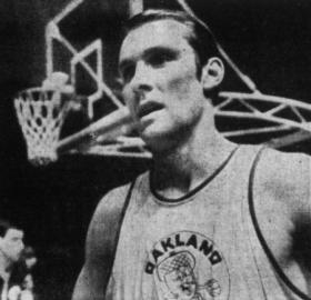 Rick Barry representing the Oakland Oaks in the 1969 ABA All-Star Game. (Source: Public Domain via Wikipedia)