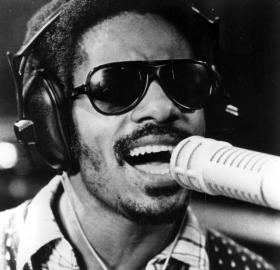 Stevie Wonder in 1973 (Source: Wikipedia)