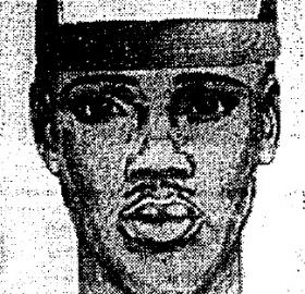 This composite sketch of the Shotgun Stalker suspect was plastered all over Columbia Heights and Mount Pleasant in 1993. (Source: Washington Post)