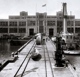 U.S. Naval Torpedo Station in Alexandria, Virginia circa 1922