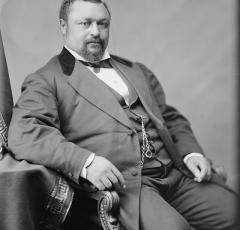 Formal Portrait of Senator Blanche Bruce