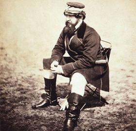 Though he wasn't a big fan of the term, William Howard Russell gained international reknown as one of the first war correspondents when reporting of conflicts for The Times newspaper. In 1861, his duties brought him to Washington. (Photo source: Wikipedia)