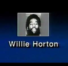 "Screenshot from the 1988 ""Willie Horton"" ad. via: Wikipedia (Fair use)"